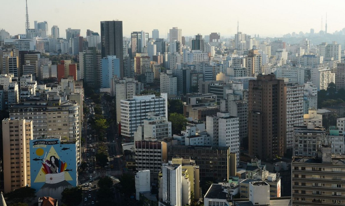 Vista do Edifício Copan, região central